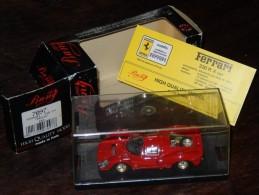 Bang Modellauto - Ferrari 330 P4 In Rot - Unbespielt, Mint Condition 1967 - Bang