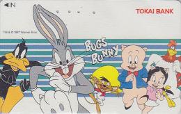 TC Japon - BD Comics - WARNER BROS - BUGS BUNNY COCHON PIG SPEEDY GONZALEZ DAFFY DUCK / BANQUE TOKAI BANK  - Japan Pc - Comics