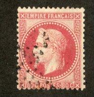 3399  France 1868  Mi.# 31 (o)  Scott #36  Offers Welcome! - 1863-1870 Napoleon III With Laurels