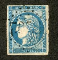 3411  France 1871  Mi.# 41 (o)  Scott #45  Offers Welcome! - 1871-1875 Cérès
