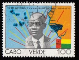CAPE VERDE - Scott #373 The 20th Anniversary Of PAIGC / Used Stamp - Isola Di Capo Verde
