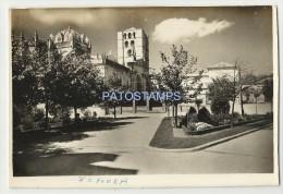 2675 SPAIN ESPAÑA ZAMORA CASTILLA Y LEON PLACE OF THE CATHEDRAL CUT  EDGE POSTAL POSTCARD - Espagne