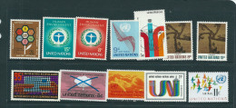 VENTE  LOT  No   0 3 5 TIMBRES   Des   UNITED NATIONS     STAMPS  M N H * *   1973 - New-York - Siège De L'ONU