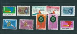 VENTE  LOT  No   0 3 7 TIMBRES   Des   UNITED NATIONS     STAMPS  M N H * *   1973 - New-York - Siège De L'ONU