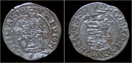 Hungary Ferdinand I AR Denar 1564 - Hongrie
