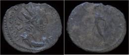 Victorinus Billon Antoninianus Sol Standing Left - 5. L'Anarchie Militaire (235 à 284)