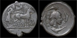Sicily Syracuse AR Tetradrachm - Greche