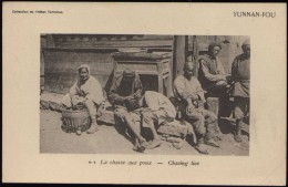 CINA (China): Yunnan Fou - Chasing Lice - Chine