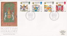 Great Britain 1987 Scottish Heraldry FDC - FDC