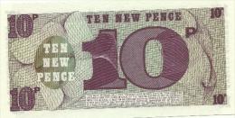 Gran Bretagna - 10 Pence, - British Military Authority