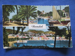 La Cote D´Azur. Bandol. Aris 3001. Multi Vues. Voyage 1959. - Bandol
