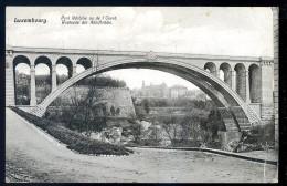 Cpa Luxembourg Pont Adolphe Vu De L' Ouest -- Westseite Der Adolfbrücke     JA15 38 - Luxembourg - Ville