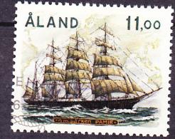 "Aland - 4-Mastbark ""Pamir""  1988 - Gest. Used Obl. - Aland"