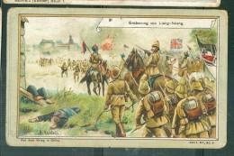 Chromos Allemands -  SEroberung Von Liang-Hsiang  - Aecht Trampler Kaffee - C. Trampler Lahr I. Baden   AZ15414 - Trade Cards