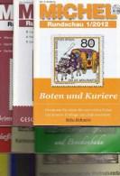 9 Verschiedene MICHEL Briefmarken Rundschau Neu 45€ New Stamps Of The World Catalogue And Magacine Of Germany - Temas