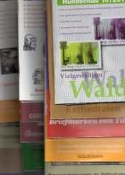 15 Verschiedene Briefmarken Rundschau MICHEL Neu 75€ New Stamps Of The World Catalogue And Magacine Of Germany - Briefmarken