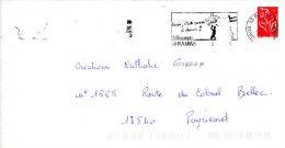 FRANCE. Enveloppe Ayant Circulé Avec Flamme De 2006. Skateboard. - Skateboard
