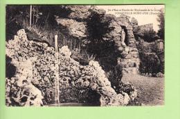 LONGEVILLE MONT D' OR - Entrée De L' Esplanade De La Grotte Et Jet D' Eau  - 2 Scans - France