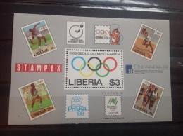 Liberia - MNH / Postfris - Sheet Olympische Spelen (3) 1988 - Liberia