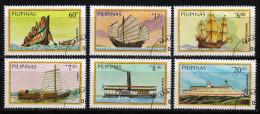 Philippinen 1984 - Schiffe - MiNr.1629-1634 Kompletter Satz - Schiffe