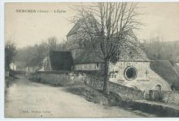 02,Aisne, SERCHES, L'Eglise, Scan Recto-Verso - France