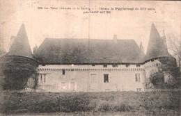 24 CHATEAU DE PUYFERRAT PRES SAINT ASTIER CIRCULEE 1915 - Autres Communes