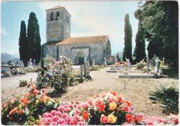 31. Gf. VALCABRERE. L'église Saint-Just Et Le Cimetière Planté D'ifs. 310199 - Altri Comuni
