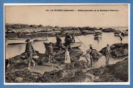 44 - Le CROISIC -- Débarquement De La Sardine à Port Lin - Le Croisic