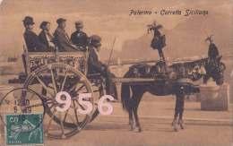 CPA * * PALERMO * * Carretto Siciliano - Palermo