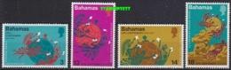 Bahamas 1974 UPU 4v ** Mnh (19471) - Bahama's (1973-...)