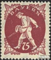 Bavière 186 Neuf Avec Gomme Originale 1920 Adieu La Série - Bayern