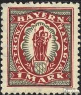 Bavière 187 Neuf Avec Gomme Originale 1920 Adieu La Série - Bayern