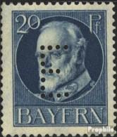 Bavière D15 Testés Oblitéré 1914 King Ludwig III. - Bavière