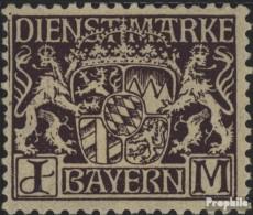 Bavière D24 Neuf Avec Gomme Originale 1916 Etat Emblem - Bavière