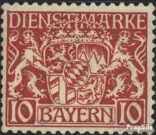 Bavière D26 Neuf Avec Gomme Originale 1916 Etat Emblem - Bavière