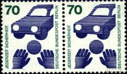 Berlin (West) 453wP Horizontale Couple (complète.Edition.) Neuf Avec Gomme Originale 1973 Prévention Des Accidents - [5] Berlino