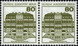 Berlin (West) 674A Horizontale Couple Oblitéré 1982 Châteaux Et Serrures - [5] Berlino