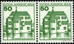 Berlin (West) 615A Wp Horizontale Couple Neuf Avec Gomme Originale 1980 Châteaux Et Serrures - [5] Berlino