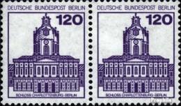 Berlin (West) 675A Wp Horizontale Couple Neuf Avec Gomme Originale 1982 Châteaux Et Serrures - [5] Berlino