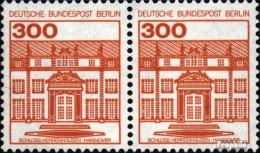Berlin (West) 677A Wp Horizontale Couple Neuf Avec Gomme Originale 1982 Châteaux Et Serrures - [5] Berlino