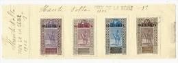 Feuillets Haute Volta 1922 - Upper Volta (1920-1932)