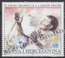 Bosnia Hercegovina - Bosnie 1998 Yvert 285, 50th Anniversary Of Human Rights - MNH - Bosnia And Herzegovina