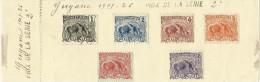 Feuillet Guyane 1905-1926 - Französisch-Guayana (1886-1949)