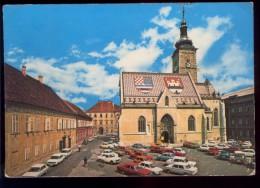 Yugoslavia, Croatia, Zageb, Skopje, Cars, 1976 01229 - Kroatien