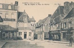 PAIMPOL - N° 134 - RUE DE L'EGLISE ET PLACE DU MARTRAY - Paimpol