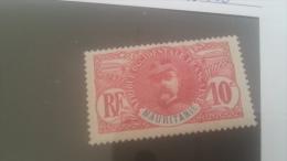 LOT 246115 TIMBRE DE COLONIE MAURITANIE NEUF* N�5 VALEUR 16 EUROS