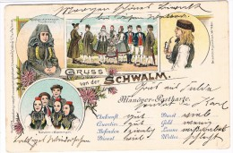 D5041    SCHWALM : Güsse Von Der Schwalm ( Litho) - Andere