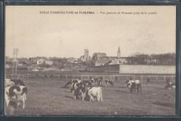 - CPA 56 - Ploërmel, Ecole D'Agriculture - Vue Générale Prise De La Prairie - Ploërmel