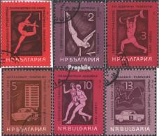 Bulgarie 1558-1563 (complète.Edition.) Oblitéré 1965 Interne. Championnats D'étudiants - Bulgaria
