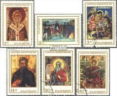 Bulgarie 1850-1855 (complète.Edition.) Oblitéré 1968 1000 Années Rila-monastère - Bulgaria